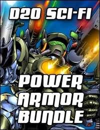 D20 Sci-Fi Power Armor Bundle [BUNDLE]