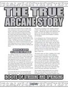 The True Arcane Story: Boots of Striding and Springing