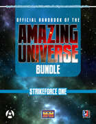 Official Handbook of the Amazing Universe: Strikeforce (Super-Powered by M&M) [BUNDLE]