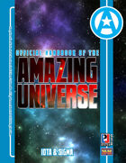 Official Handbook of the Amazing Universe: Iota & Sigma (Super-Powered by M&M)