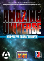 Amazing Universe Non-Player Character Deck (Super-Powered by M&M)