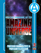 Official Handbook of the Amazing Universe: Professor Rhiannon Pryce & Professor Felix Olsson (Super-Powered by M&M)