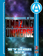 "Official Handbook of the Amazing Universe: Timin ""Tim"" Sahir-Morgan & Twilight Inc. (Super-Powered by M&M)"