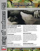 Bleeding Edge: Ammunition (D20 Modern)