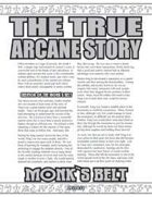 The True Arcane Story: Monk's Belt