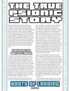 The True Psionic Story: Boots of Landing