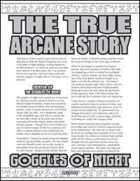 The True Arcane Story: Goggles of Night