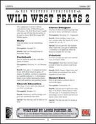 Wild West Feats 2