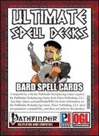 Ultimate Spell Decks: Bard Spell Cards (PFRPG)