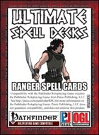 Ultimate Spell Decks: Ranger Spell Cards (PFRPG)
