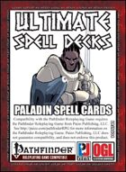 Ultimate Spell Decks: Paladin Spell Cards (PFRPG)