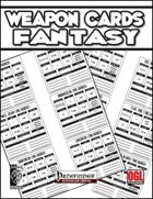 Weapon Cards Fantasy (PFRPG)