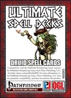 Ultimate Spell Decks: Druid Spell Cards (PFRPG)