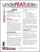 Undefeatable 8: Druids (PFRPG)