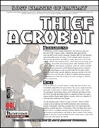 Lost Classes of Fantasy: Thief Acrobat (PFRPG)
