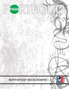 Page Portfolio 003 Black & White Fantasy Backgrounds