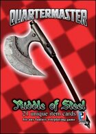 Quartermaster: Riddle of Steel Item Cards