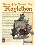 Races of Pirates of the Bronze Sky: Kaylethon (PFRPG)