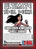Ultimate Spell Decks: Sorcerer & Wizard Spell Cards (PFRPG)
