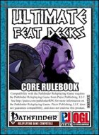 Ultimate Feat Decks: Core Rulebook (PFRPG)