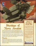 Skyships of Nova Avalon (PFRPG)