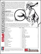Two Dozen Discoveries: Spells (PFRPG)