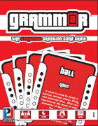 GRAMMAR: The Sentence Creation Card Game