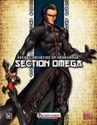 Secret Societies of NeoExodus: Section Omega (PFRPG)