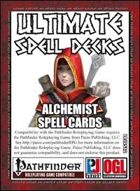Ultimate Spell Decks: Alchemist Spell Cards (PFRPG)