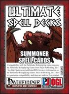 Ultimate Spell Decks: Summoner Spell Cards (PFRPG)