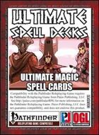 Ultimate Spell Decks: Ultimate Magic Spell Cards (PFRPG)