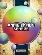 Monsters of NeoExodus: Annihilation Sphere (PFRPG)