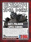 Anti-Paladin Spell Cards (PFRPG)