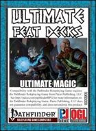 Ultimate Feat Decks: Ultimate Magic  (PFRPG)