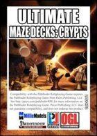 Ultimate Maze Decks: Crypts (PFRPG)