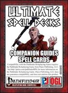 Ultimate Spell Decks: Companion Guides Spell Cards  (PFRPG)