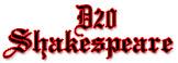 d20 Shakespeare
