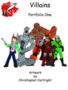 Villains Art Portfolio Volume one