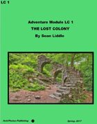 Southern Coast Adventures LC 1 - The Lost Colony