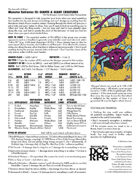 Monster Extractor III - Giants & Giant Creatures, for DCC (Dungeon Crawl Classics RPG) — INNER HAM