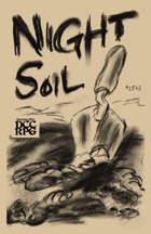 NIGHT SOIL #zero — for the DCC RPG (Dungeon Crawl Classics) — INNER HAM