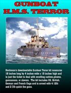 Gunboat H.M.S. Terror