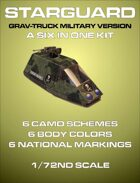 Starguard Grav-truck 6 in 1 Kit
