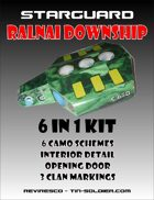 Starguard Ralnai Downship 6 in 1 Kit
