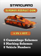 Starguard - Slasher Assault Gun Kit