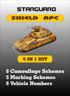 Starguard Shield APC Kit 1/72nd