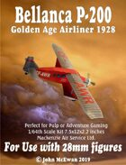 Bellanca P-200 Golden Age Airliner 1928