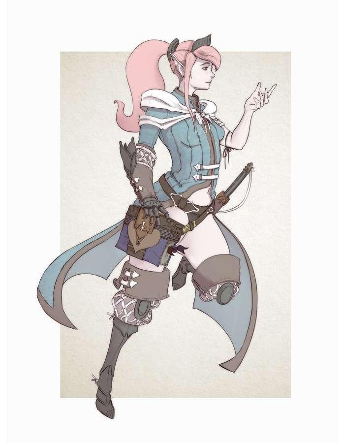 Female Mage - RPG Stock Art