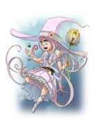 Magic Girl - RPG Stock Art