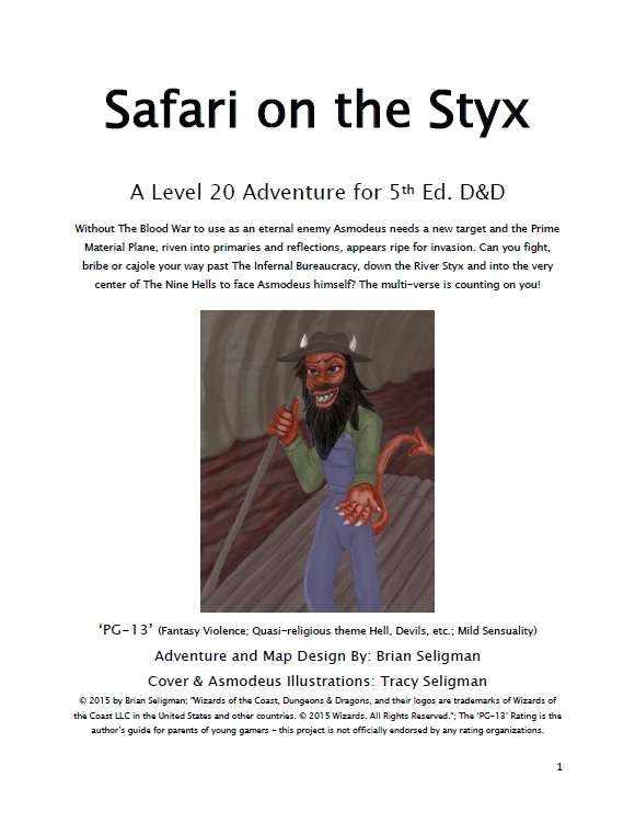 Safari on the Styx